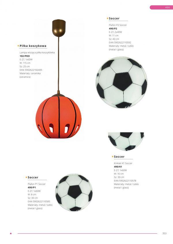 Kinkiet K1 Soccer 2