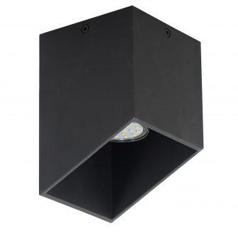 Plafon Rubik czarny 39