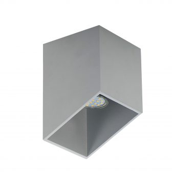Plafon Rubik popiel 40