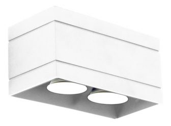 Plafon Quado DELUXE 2 biały 16
