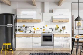 MORENO BB - meble kuchenne pod zabudowę połysk różne kolory 2,6m 51