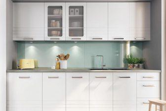 PARMA BB - ekskluzywne białe meble kuchenne 2,6m 58