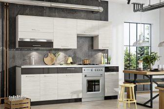 NewPort BB - ekskluzywne meble kuchenne w stylu nowoczesnym 2,4m 52