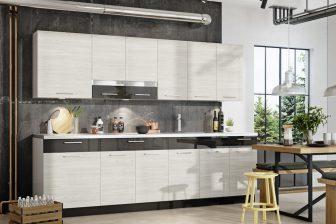 NewPort BB - ekskluzywne meble kuchenne w stylu nowoczesnym 2,6m 53