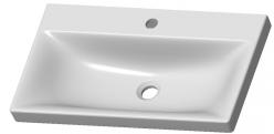 LEROY - zestaw mebli łazienkowych wiszących z lustrem dąb lefkas 3