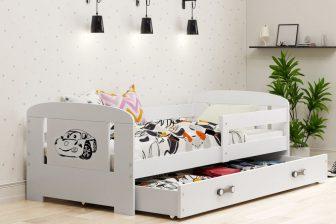 DREAMS BOY- łóżko z szufladą dla chłopca- 2 KOLORY 13