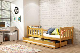 GUCIO ONE- łóżko jednoosobowe parterowe komplet - 2 KOLORY 19