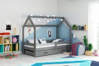 HAUS- łóżko jednoosobowe parterowe domek 21