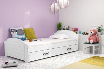 LILO - łóżko jednoosobowe parterowe komplet - KOLORY 7