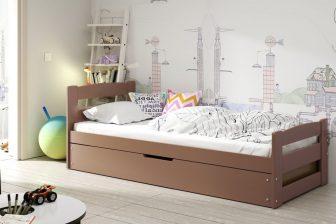 NEMO - łóżko jednoosobowe parterowe komplet - KOLORY 33