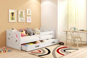 NIKO - łóżko jednoosobowe parterowe komplet - 4 KOLORY 34