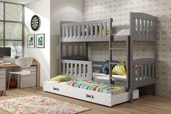 GUCIO TRIO - łóżko piętrowe trzyosobowe - WIELE KOLORÓW 20