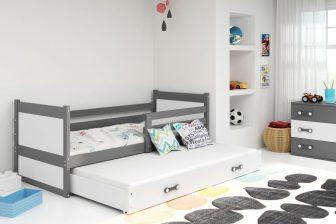 ELMO DUO 90X200- rozsuwane podwójne łóżko parterowe - WIELE KOLORÓW 14