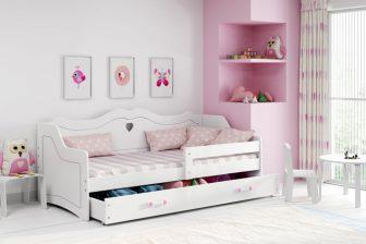PRINCESS- łóżko jednoosobowe parterowe dla księżniczki 36