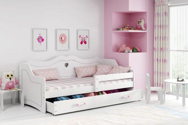 PRINCESS- łóżko jednoosobowe parterowe dla księżniczki 1