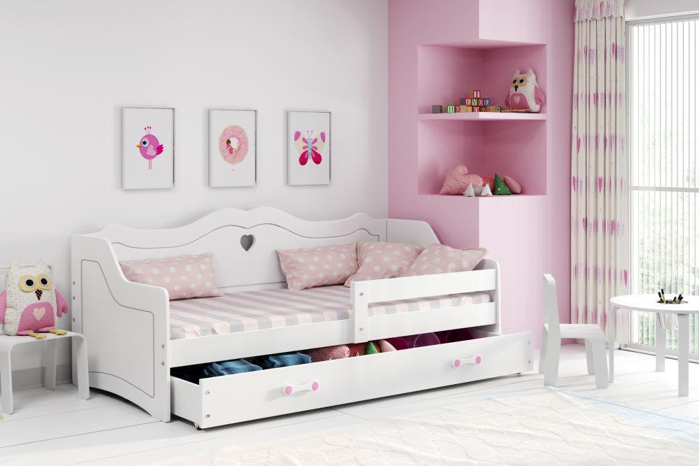 PRINCESS- łóżko jednoosobowe parterowe dla księżniczki 2