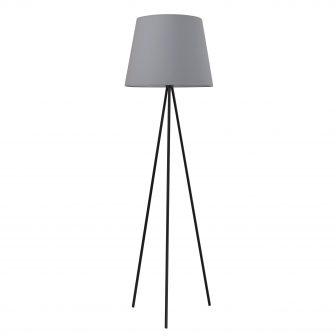 Lampa stojąca Eriz B popiel 37