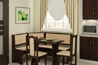 KAMA 2- narożnik kuchenny narożny z krzesłami 104
