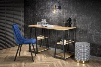 B-AH44 - duże biurko w stylu loft 32