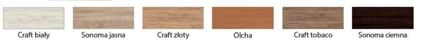 CANCEPT 9- zestaw mebli kuchennych- kolory do wyboru 2