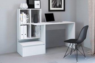 BALDER - biurko z półkami i szufladą 37