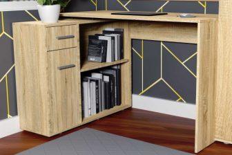 FUNCTION - biurko narożne uniwersalne z komodą 56
