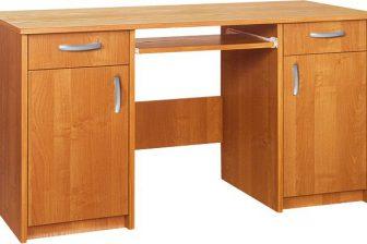 DALEN - duże biurko z wysuwaną klawiaturą - 9 KOLORÓW 37