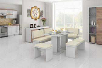 IKAR 1 - duży zestaw mebli kuchennych do siedzenia - kolory do wyboru 101