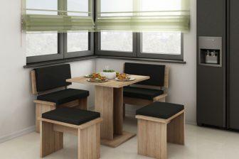 IKAR 2 - mały zestaw mebli kuchennych do siedzenia - kolory do wyboru 102