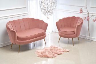AMORE - kanapa sofa muszelka - KILKA KOLORÓW 73