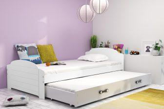 LILO - łóżko dwuosobowe parterowe komplet - KOLORY 23