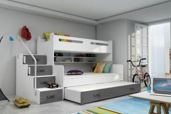 MAXI 3 - łóżko piętrowe antresola 3osobowe 31