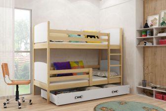 TOMMY - łóżko piętrowe dwuosobowe 38