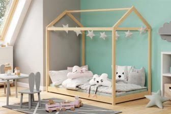YOGI NEW - łóżko domek 160x80 40