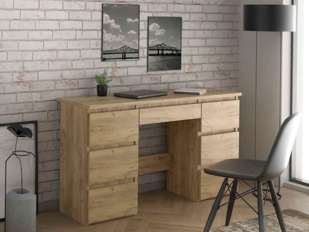 ALFA 4 - duże biurko z szufladami - 3 kolory 4