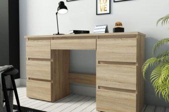 ALFA 4 - biurko z szufladami - 2 kolory 17