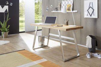 ANDER - biurko w stylu loft - 2 kolory 26