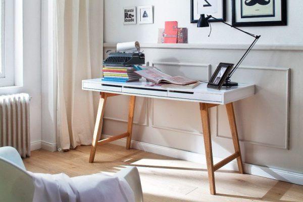 ANKE - biurko konsola w stylu skandynawskim 1
