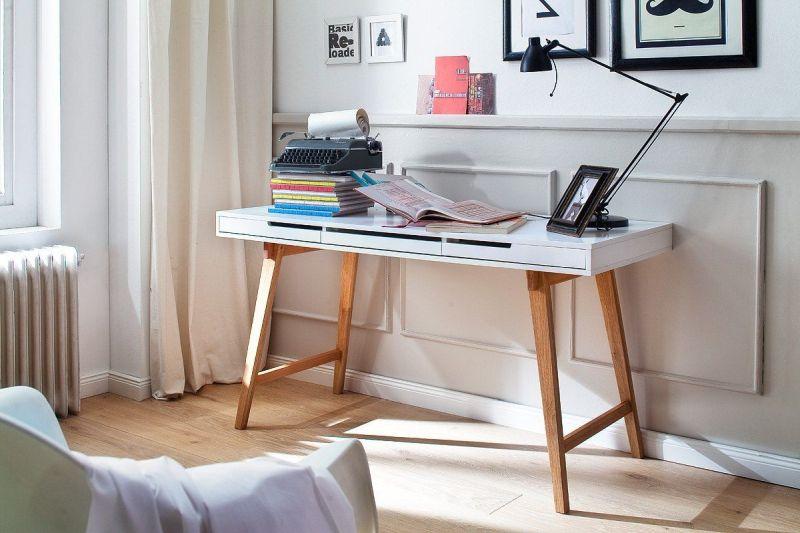 ANKE - biurko konsola w stylu skandynawskim 2