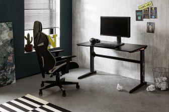 BOSE 2- biurko gamingowe z oświetleniem 46