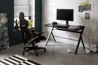 BOSE 3 - biurko gamingowe z oświetleniem 47