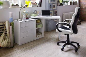 MARAT - biurko narożne z komodą 4