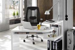 MATEO - biurko narożne z regałem 2