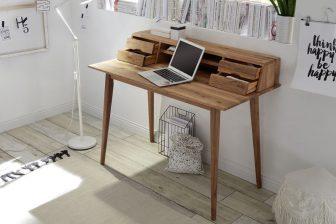 MORAG - biurko konsolka z szufladami 9