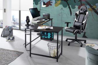 MULTO - biurko narożne w stylu loft 76