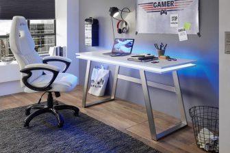 TORI 1 - biurko z podświetlanym blatem 83