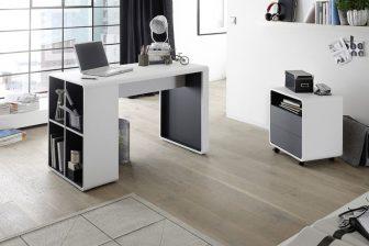 TORRE - biurko z regałem 86