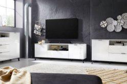 COSMO 2SZ - nowoczesny stolik szafka RTV 5
