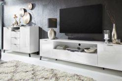 COSMO 2SZ - nowoczesny stolik szafka RTV 10