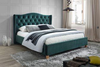 ASPEN 180 VELVET - łóżko tapicerowane - 2 KOLORY 32